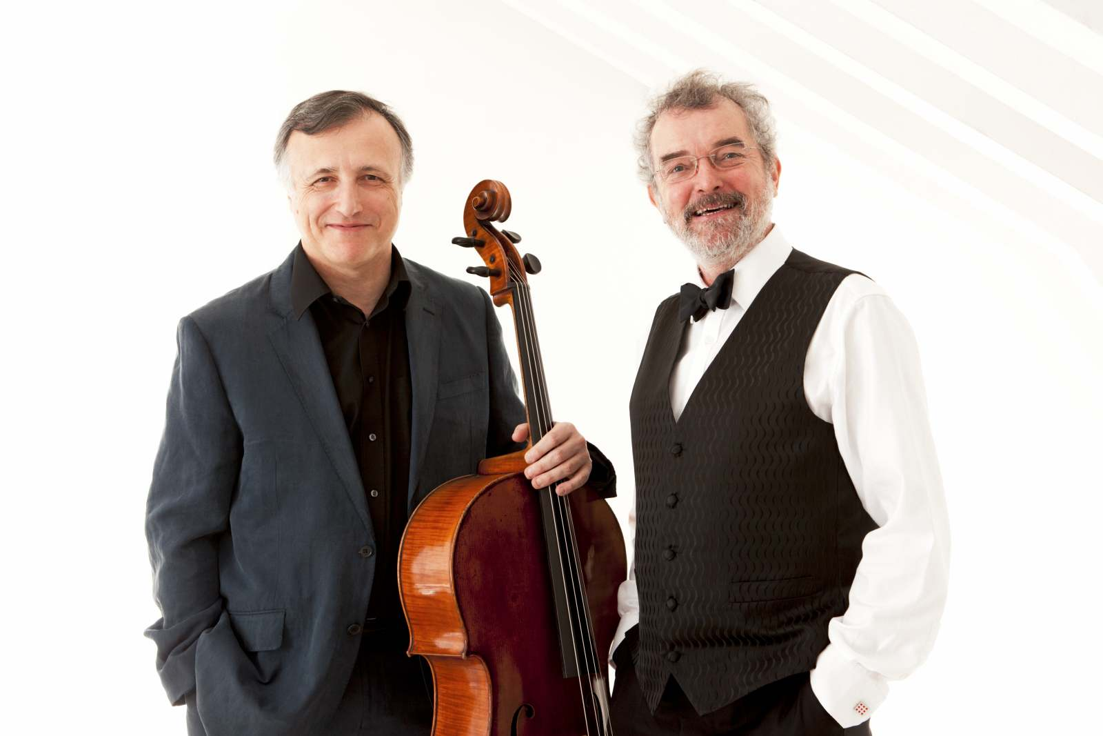 Raphael Wallfisch (cello) & John York (piano)