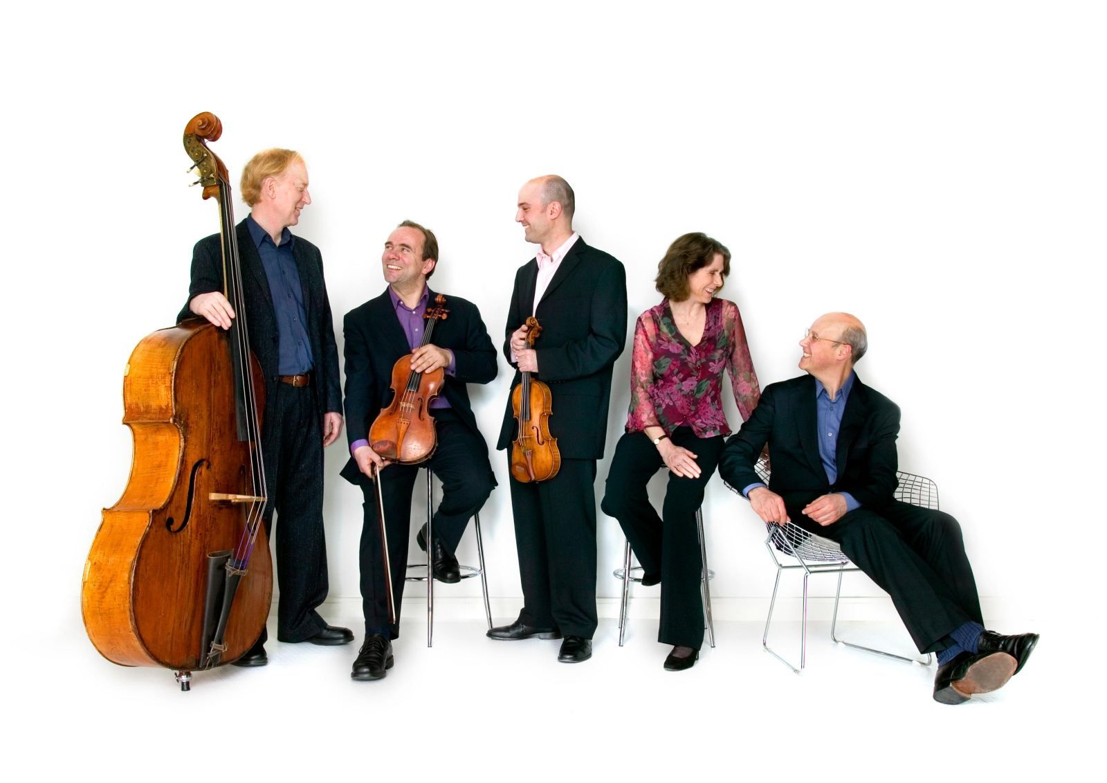 The Schubert Ensemble: photo credit John Clark