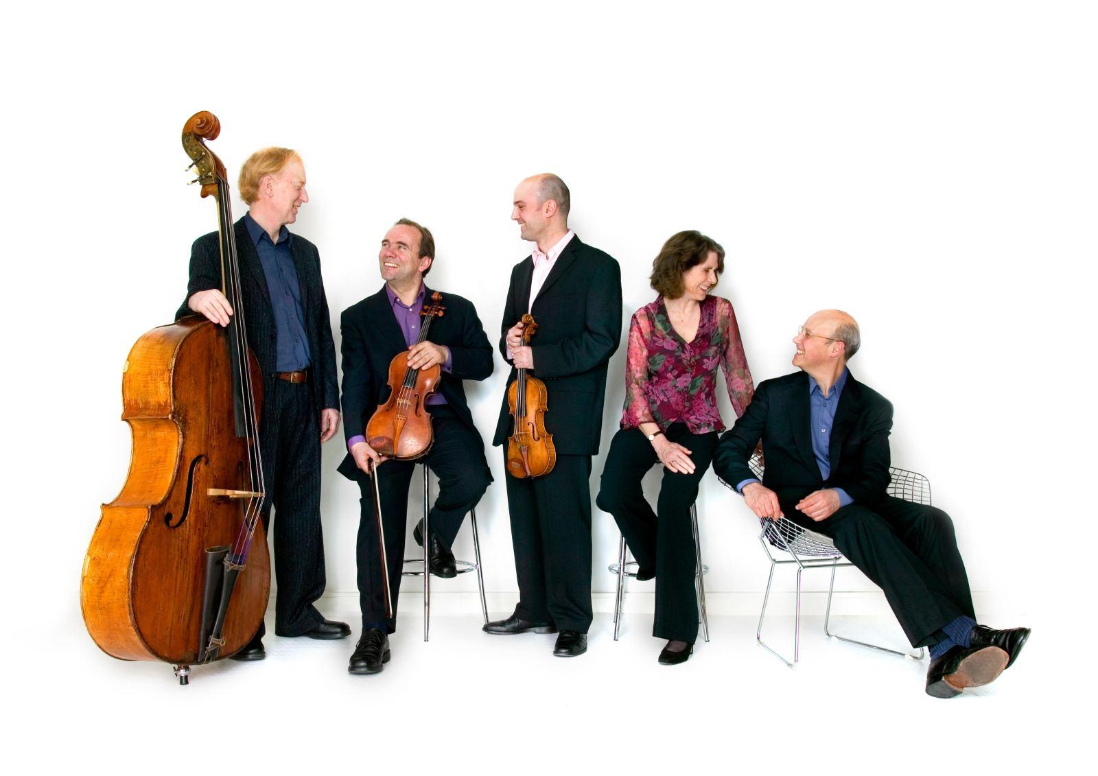 Schubert Ensemble: photo credit John Clark