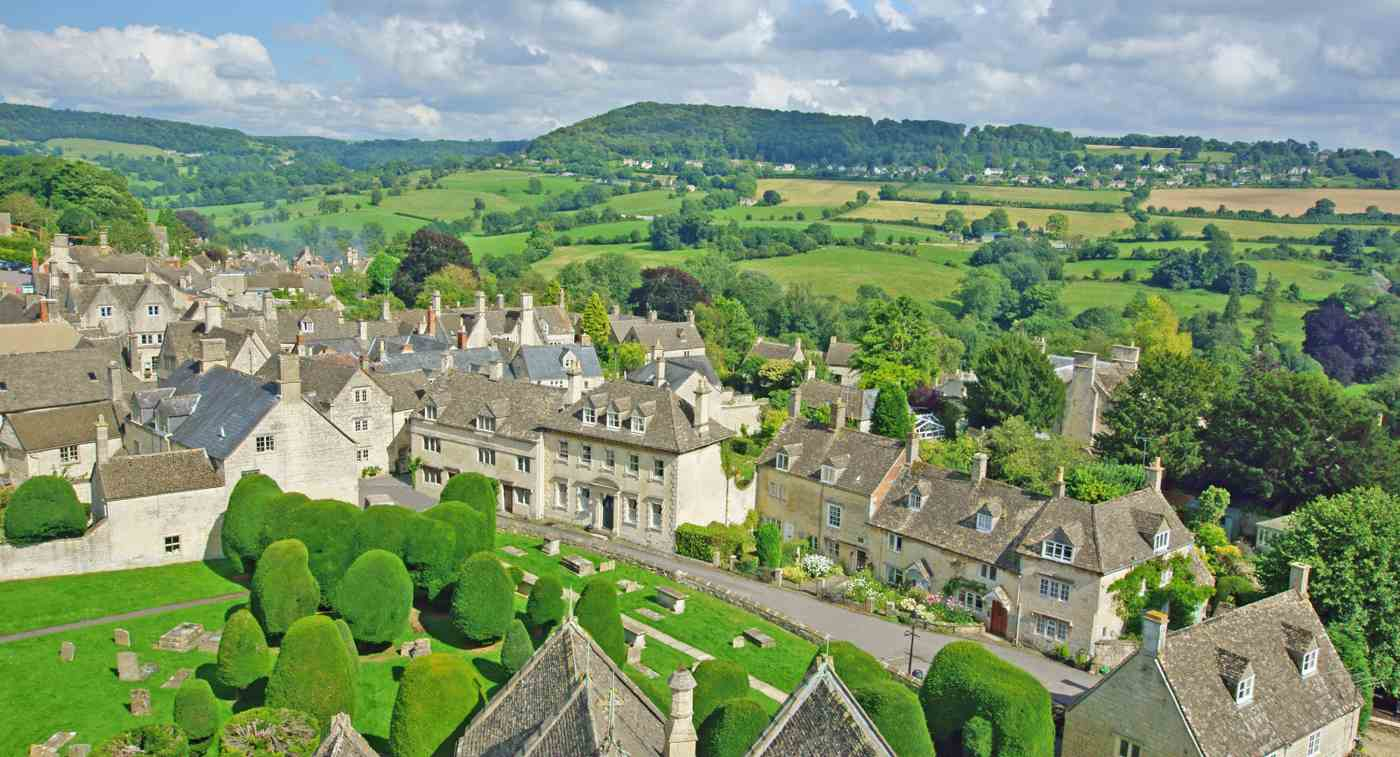 The town of Painswick © Peter Raymond Llewellyn